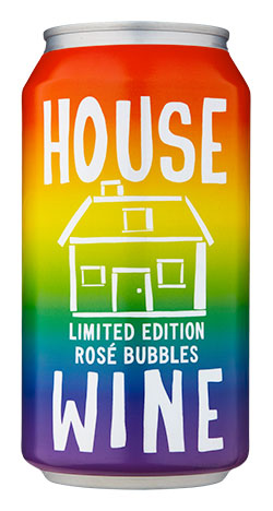 House Wine Rainbow Can