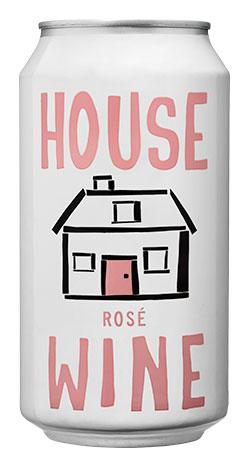 House Wine Rosé Can