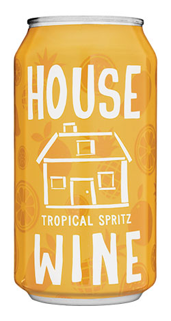 Can of Tropical Spritz.