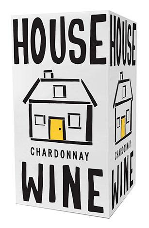 House Wine chardonnay boxed wine