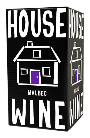 House Wine Malbec boxed wine