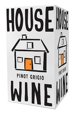 House Wine Pinot Grigio boxed wine