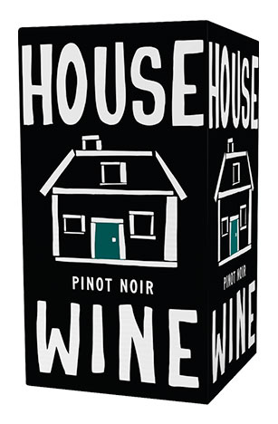 House Wine Pinot noir boxed wine