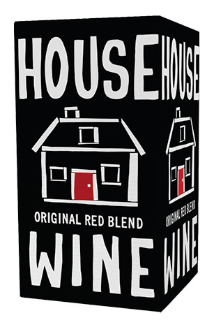 House Wine Original Red Blend boxed wine