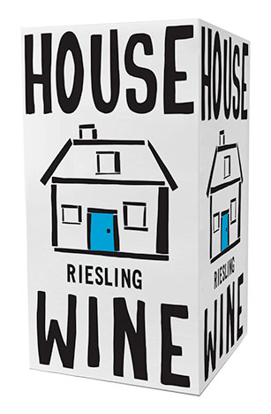 House Wine riesling boxed wine
