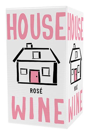 House Wine rosé boxed wine