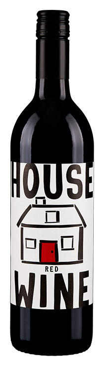 House Wine Red Wine bottle