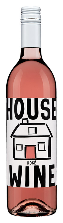 House Wine Rosé Bottle
