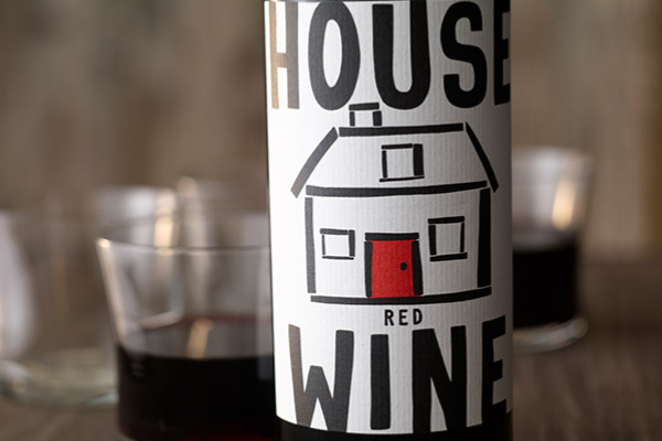 House Wine Original Red Wine Bottle