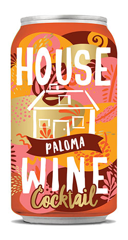 House Wine Paloma Cocktail Can