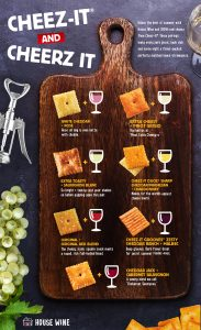 House Wine & Cheez-It Pairing Guide