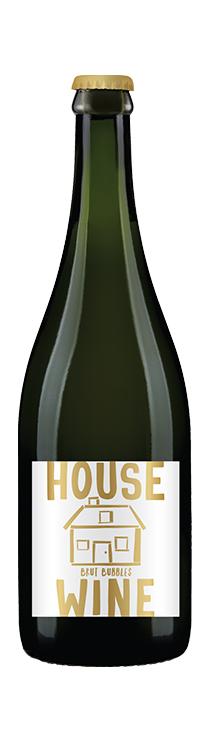 House Wine Brut Bubbles Bottle