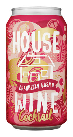 House Wine Cranberry Cosmo Cocktail 375ML Can