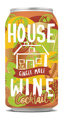 House Wine Ginger Mule Cocktail 375ML Can
