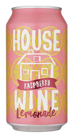 House Wine Raspberry Lemonade Can Image