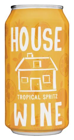 House Wine Tropical Mango Spritz Canned Wine