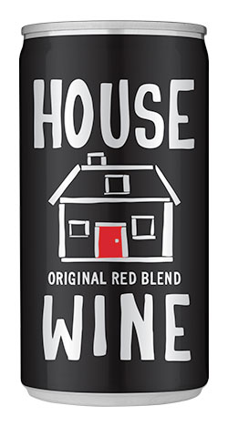 House Wine Original Red Blend Mini can