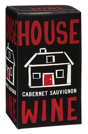 House Wine Cabernet Sauvignon boxed wine