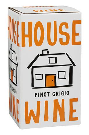 House Wine Pinot Grigio Box Wine