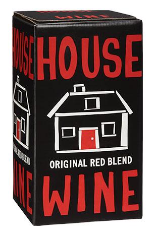 House Wine Original Red Blend Box Wine